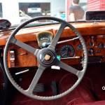 Jaguar Mark IX mit Vorwahlhebel für Automatikgetriebe hinter dem Lenkrad