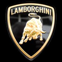 Logo Lamborghini auf Lamborghini Huracán 2014–2020