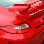 Porsche 911 GT3 3.8 Detailansicht auf Heckspoiler