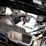 Porsche 911 GT3 3.8 Motorraum Detailansicht