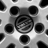 Logo Volvo auf Leichtmetall-Felge