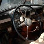 Opel Kapitän Interieur stark restaurierungsbedürftig