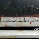 Opel Kapitän mit Schritzuglogo Kapitän seitlich auf Motorhaube