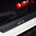 Porsche 911 GT3 RS Typ 996 mit geprägtem GT3-Einstiegsblech