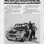 1972, Ami 8 Werbung in Großbritanien