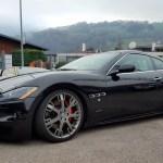 Maserati GranTurismo S in schwarz