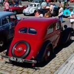 Adler Trumpf Junior 1E- Limousine Heckansicht