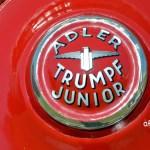 Adler Trumpf Junior 1E- Limousine große Beschriftung auf Ersatzrad