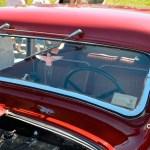 Adler Trumpf Junior 1E- Limousine mit Schweinwerfer von oben wischend