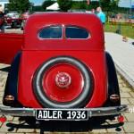 Adler Trumpf Junior 1E- Limousine mit geschlossenem Ersatzrad