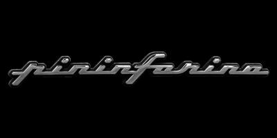 Logo Pininfarina auf Ferrari 458 Spyder