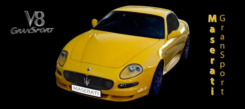 Maserati GranSport (2004-2007) and 32 detail pics