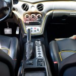 Maserati GranSport mit Blick auf Mittelkonsole
