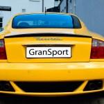 Maserati GranSport Coupé rear view