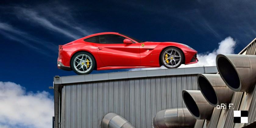 Ferrari F12 Poster by aRi F.