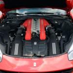 Ferrari F12 Motorraum mit 544 kW