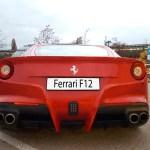 Ferrari F12 Berlinetta rear view Automotive Photography by aRi F.
