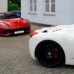 Ferrari F12 und Ferrari 458 Spider