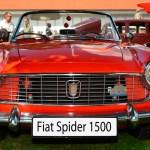 Fiat 1500 Spider Frontansicht