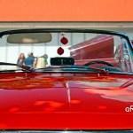 Fiat 1500 Spider Frontdetail Fensterrahmen