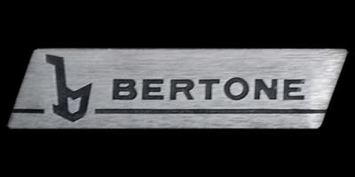 Logo Bertone auf Fiat X1/9