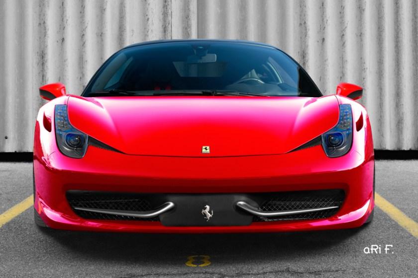 Ferrari 458 Italia Poster