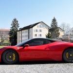 Ferrari 458 Italia side view