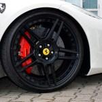 """Ferrari 458 mit Continental 235/35 ZR 20 8,5"""" vorn"""