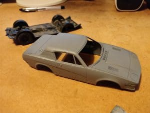 TR7 Airfix Kit Body Primer