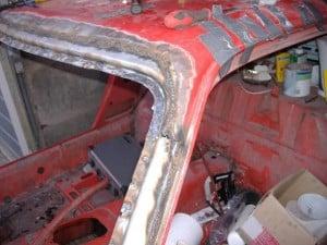 TR7-screen-frame-welded-side
