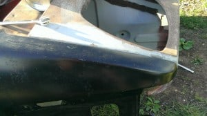 TR7 wing to front panel alignment 2