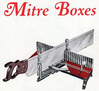 Millers Falls Miter Box History