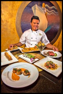 Chef Melvin Vrrutia at Flying Fish Photo © Chester Simpson