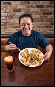 Chef Phuong Ho at Rice Paper in Alexandria, VA.