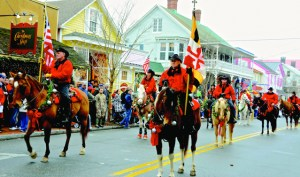 This popular horseback riding group will participate in the parade again this year. Photo by: Maureen Golden