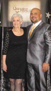 Frank and mom Lorene Solivan.