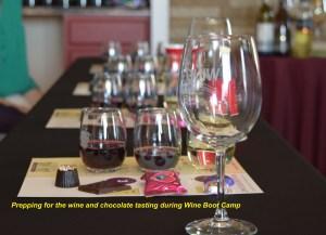 Chocolate wine pairing