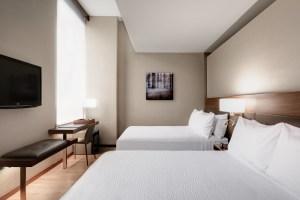 AC Hotel Double Bedroom