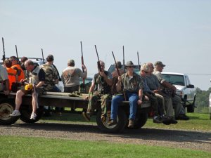 handlers training their retrievers at Shady Grove A wagonload of dove hunters sets out for the fields Dominion proposes to cover with solar panels at the annual Shady Grove Dove Hunt.