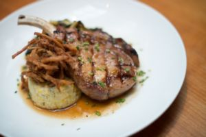 Dining out -papa weaver's pork chop