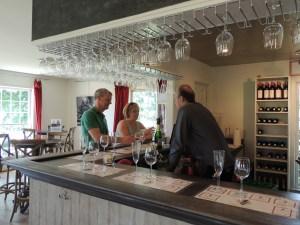 Grapevine-tasting room