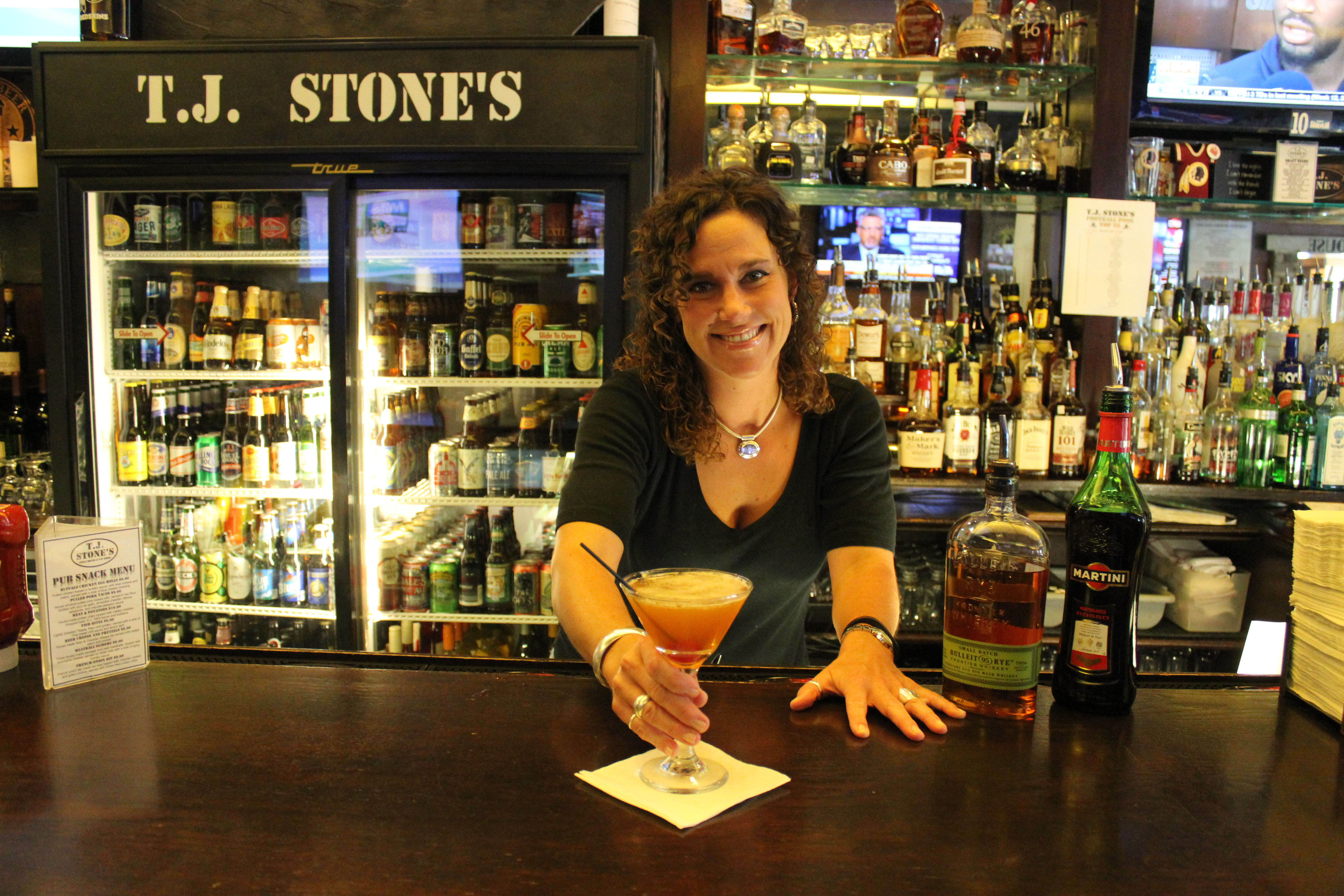 Behind the Bar: Karin Huffman