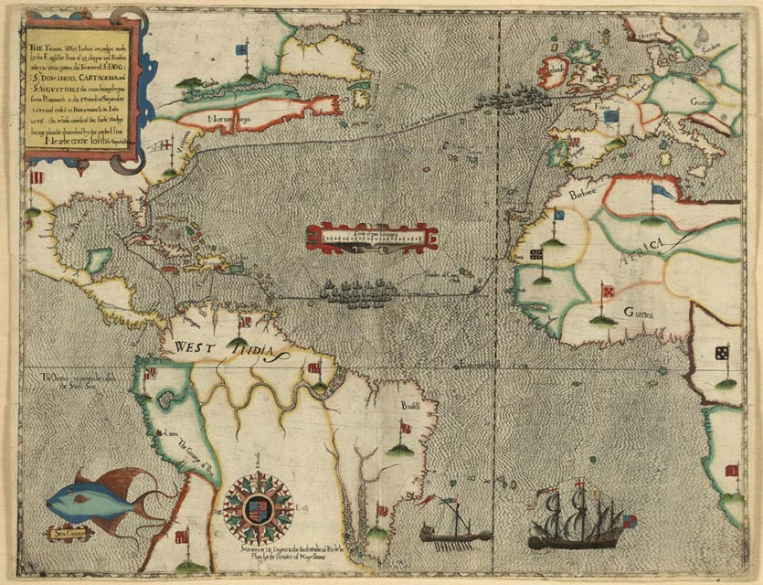 Virginia, a Base for Caribbean Privateers