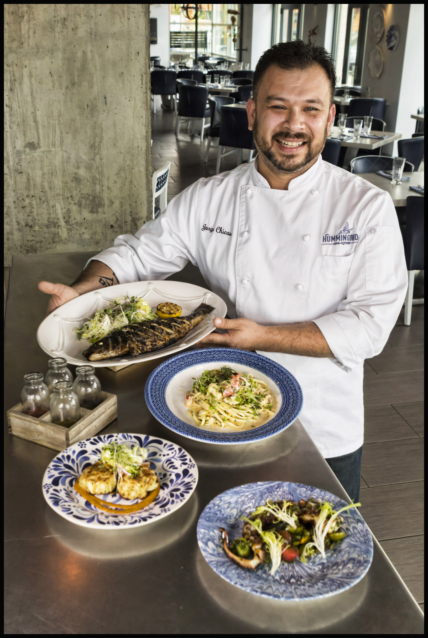 Chef Jorge Chicas