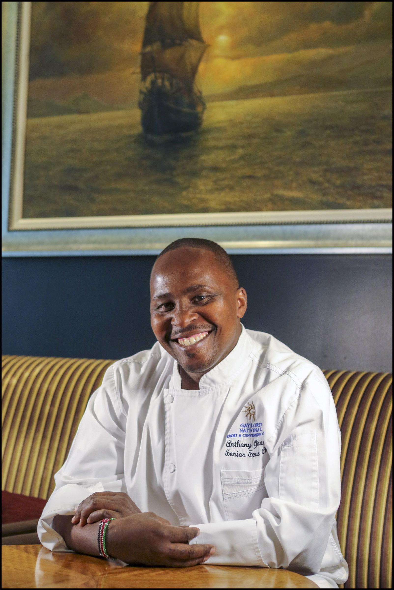 Chef Anthony Gitangu