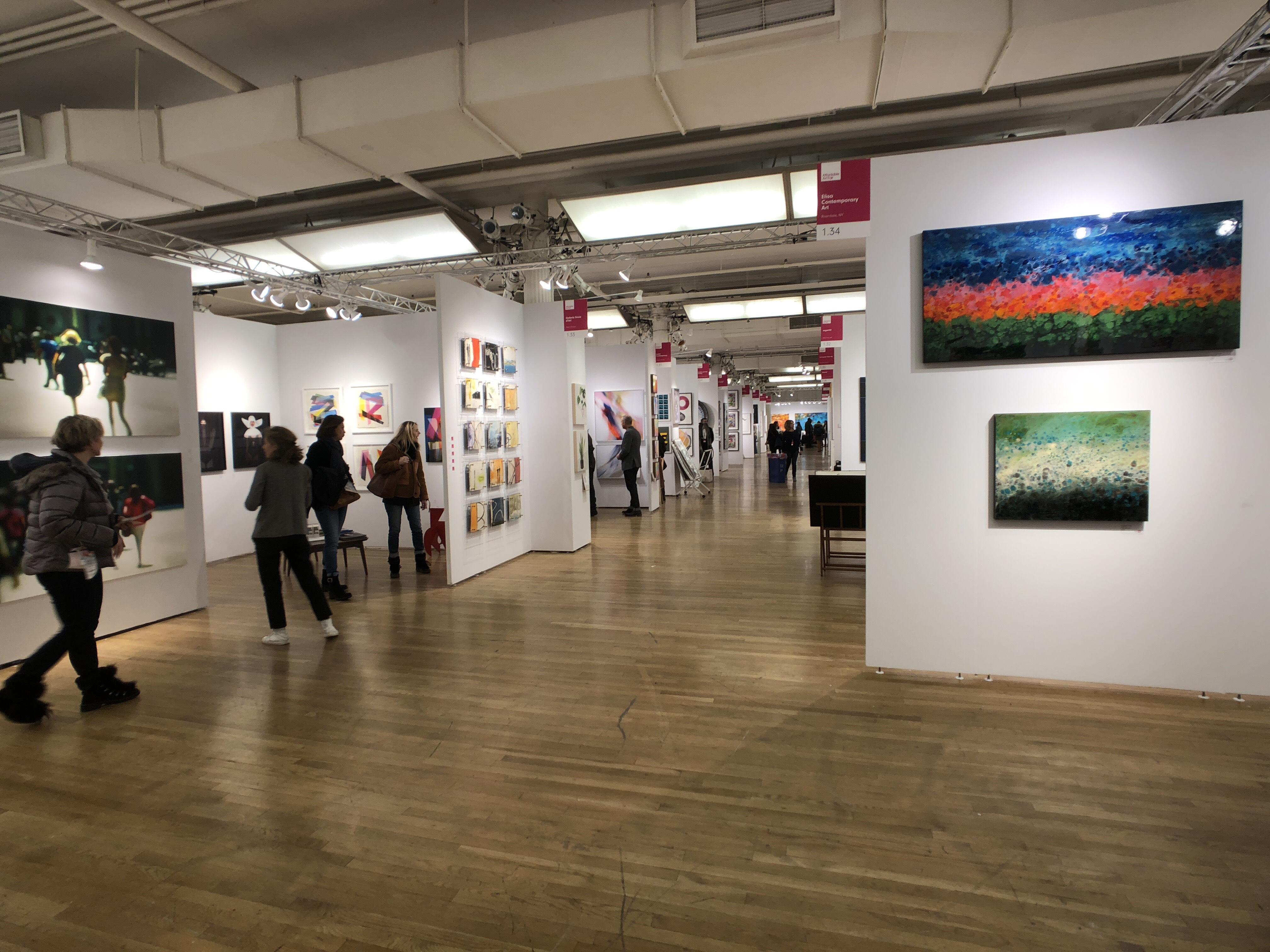 Art Gallery People Watching