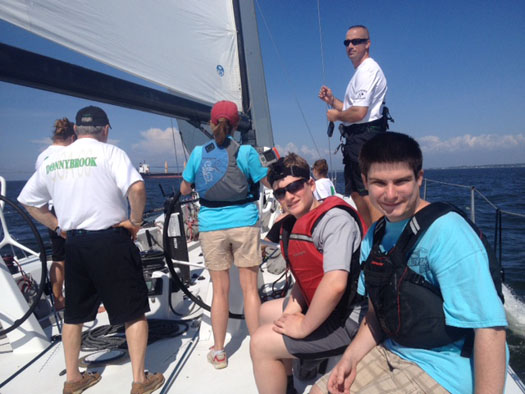 Brendan Sailing Camp Concentrates On Youth with Learning Differences