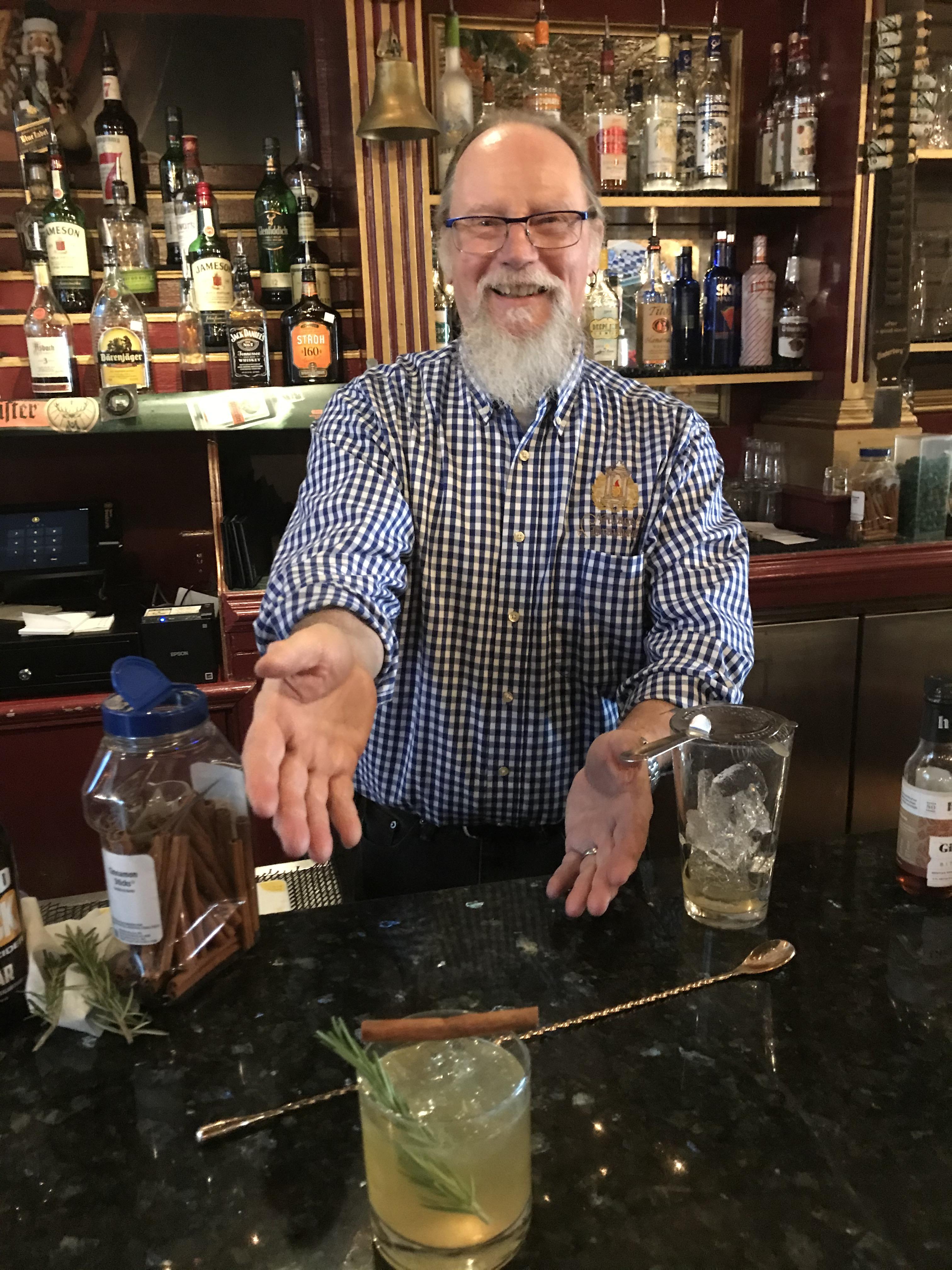 "Behind the Bar: Ronald ""Ron"" Spohnholz"