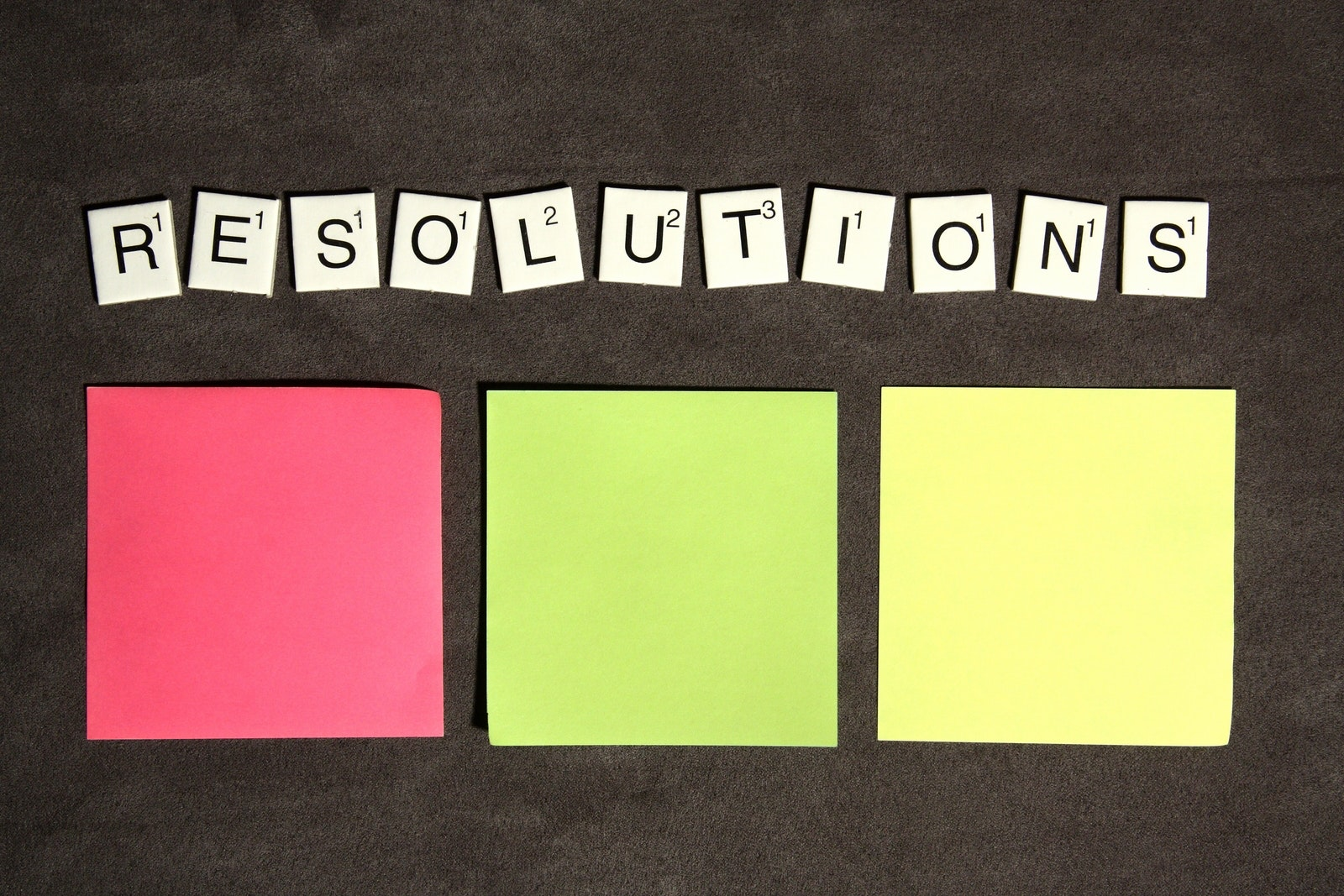 New Year – New Resolutions!