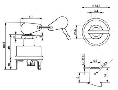 Electrisch en dashbord Massey Ferguson FE35: Contact